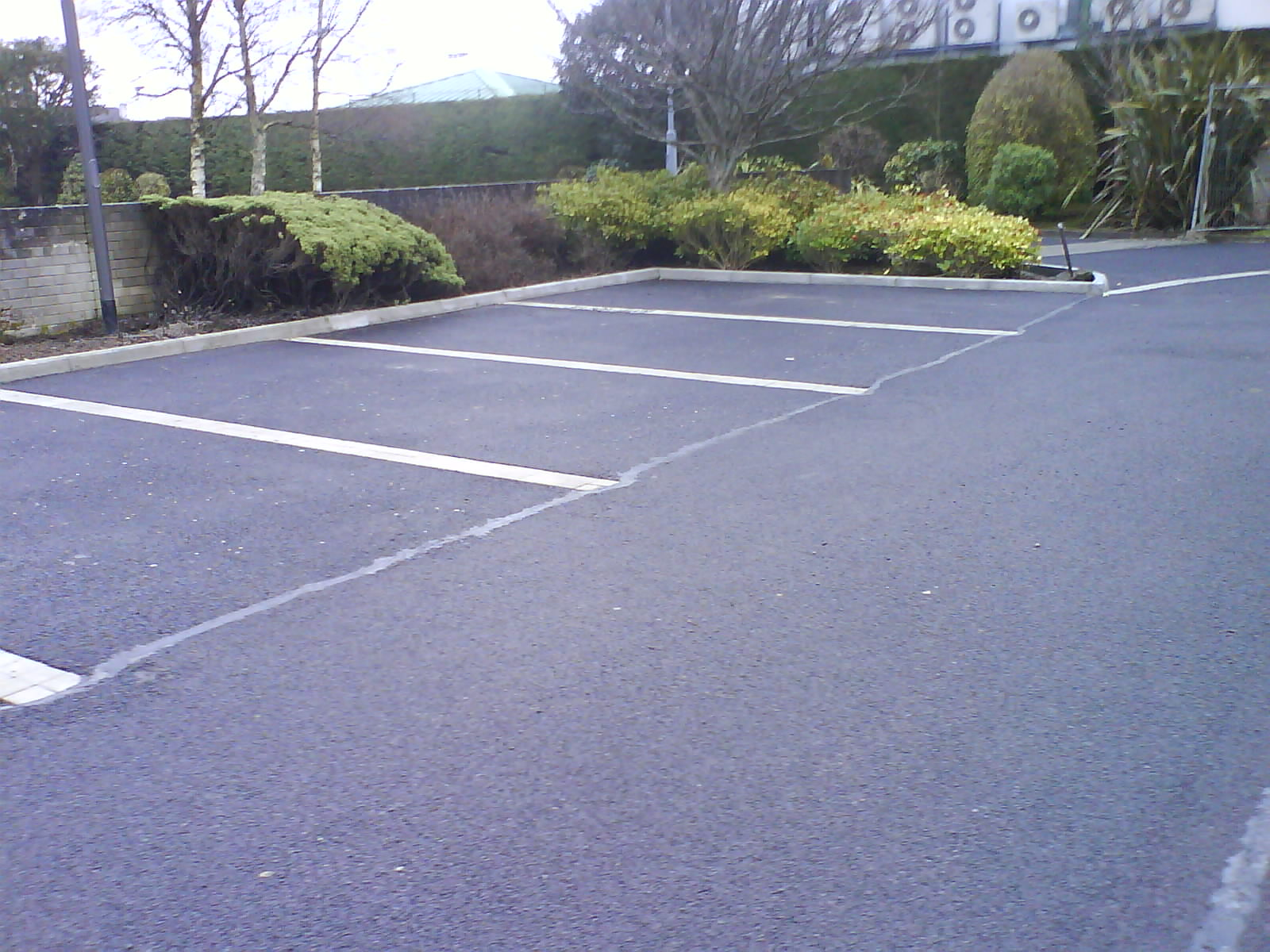 New Carpark Surface