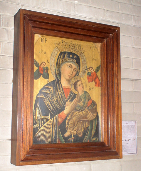 our lady icon